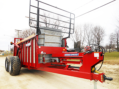 Werner Implement's new manure spreaders for sale